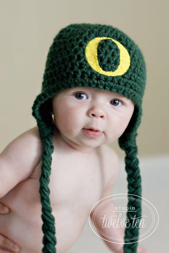Crochet Oregon Duck Hat Newborn to 4T on Etsy, $25.00