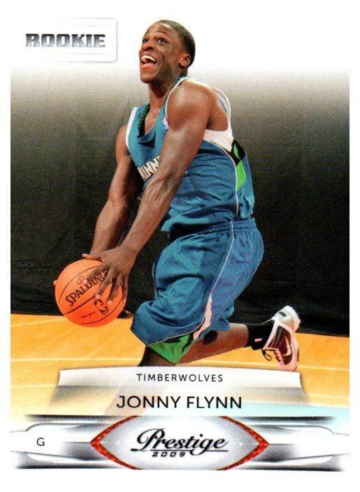 2009 Prestige Jonny Flynn Rookie Card Minnesota Timberwolves