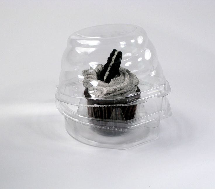 Single Cupcake Containers- 270/Case
