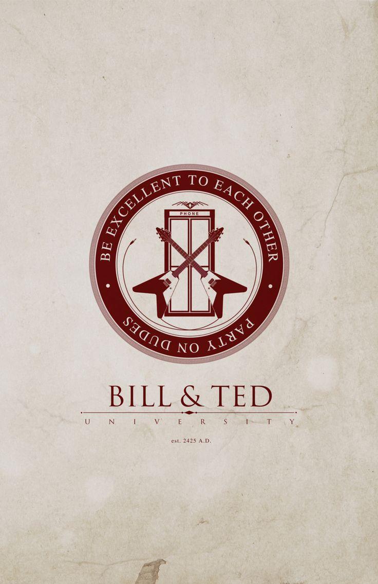 Bill and Ted University by Justin Van Gendersen