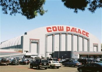 San Francisco's cow palace where I saw the Beatles in concert in 1965.
