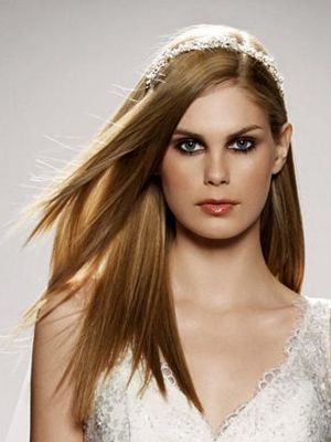 straight-wedding-hair
