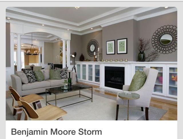 Benjamin Moore Color Storm