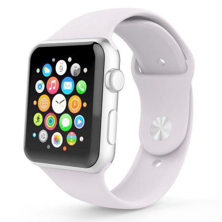 Free Shipping. Buy Silicone Sport Wrist Band Bracelet Strap For Apple Watch Series 1 2 38mm at Walmart.com