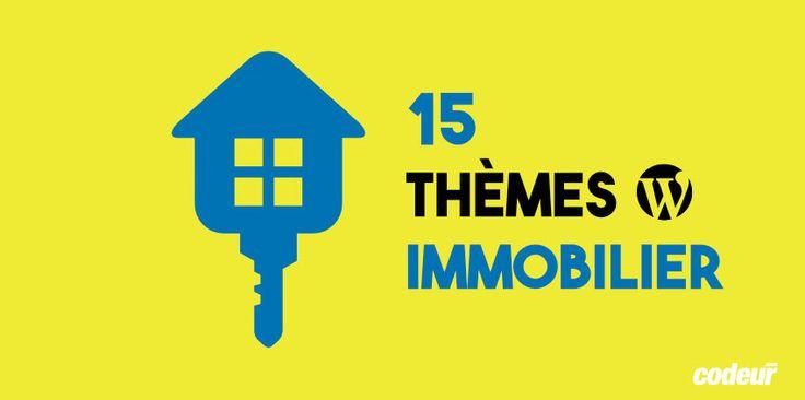 15 thèmes #WordPress pour site d'immobilier