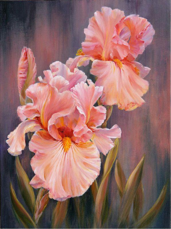 Fleurs et jardins en peintures    ( M.B )De Marianne Broome