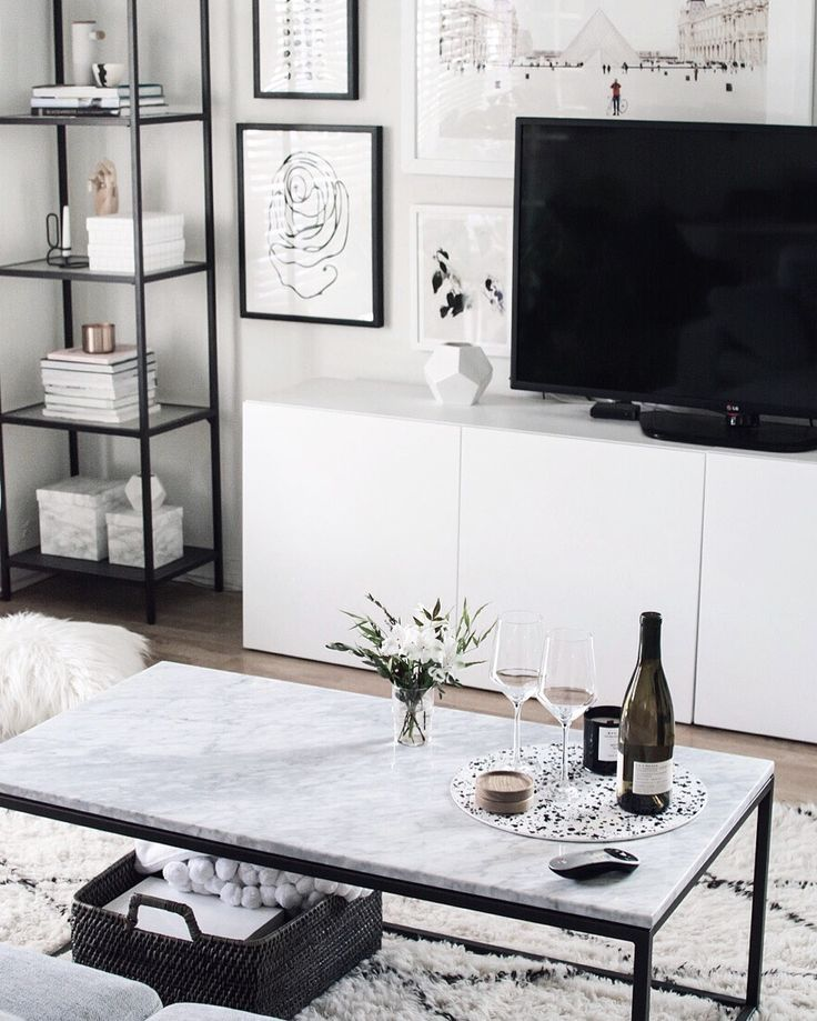 Friday Finds Living Room ApartmentLiving TvWhite