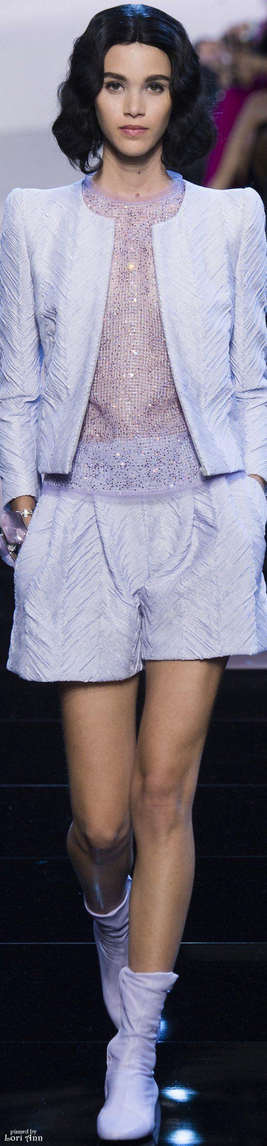 Armani Privé Couture Spring 2016