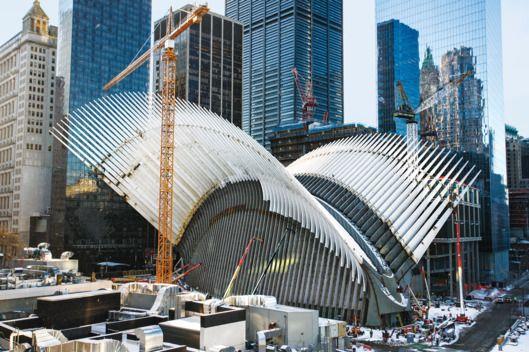 Santiago Calatrava's WTC Station -- NYMag