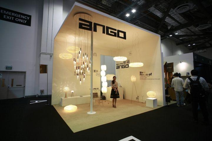 Marketing Exhibition Stand Lighting : Light building frankfurt ango exhibit design