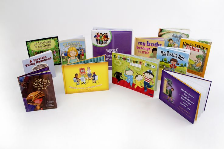 These are all the books I have included in my early years curriculum. I have linked lessons to each of these books, which I consider to be the best books for teaching abuse prevention education to young children.