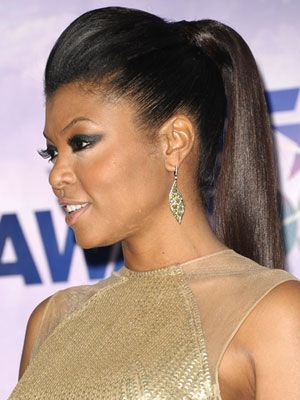 taraji p. henson hairstyle | Taraji P. Henson Smoky Eyes at the BET Awards 2011 - Celebrity Smoky ...