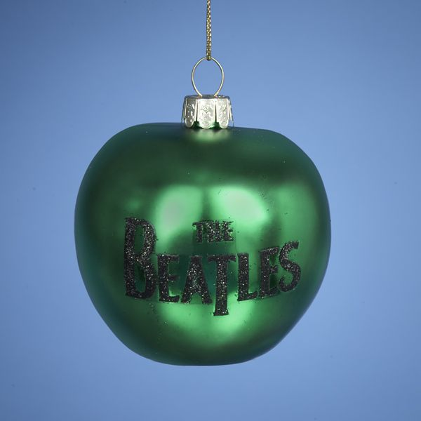 #BE4127 #THEBEATLES GREEN APPLE #beatlesornaments