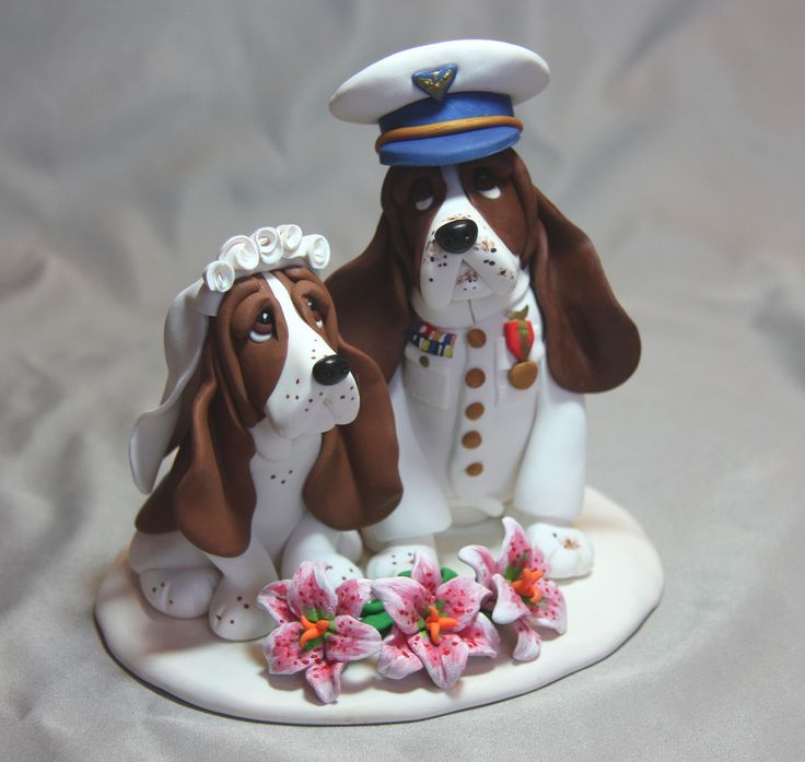 wedding cake toppers central coast basset hound coast guard wedding cake topper wedding 26436