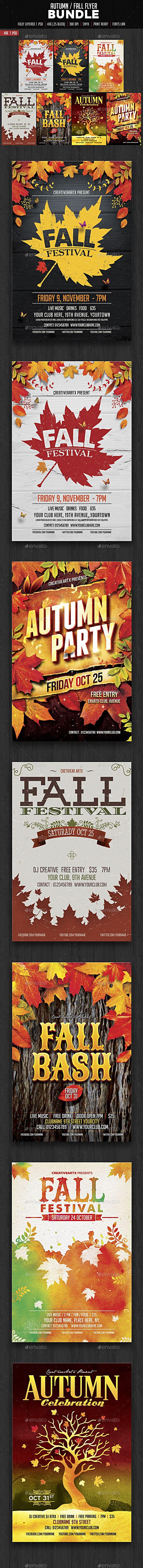 Best Autumn  Fall Images On   Festival Flyer Flyer