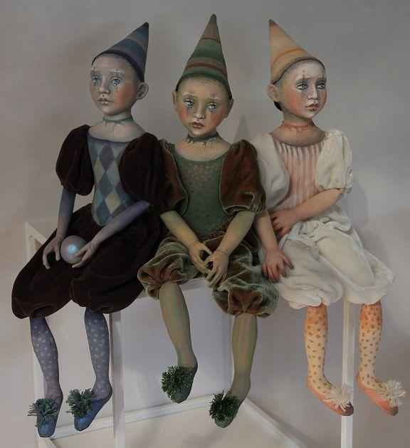 Three Sorrydolls together by Artemisia52
