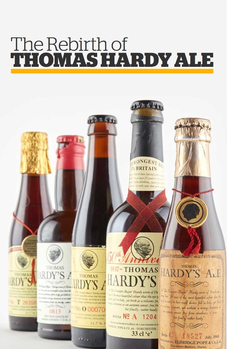 The Rebirth of Thomas Hardy Ale
