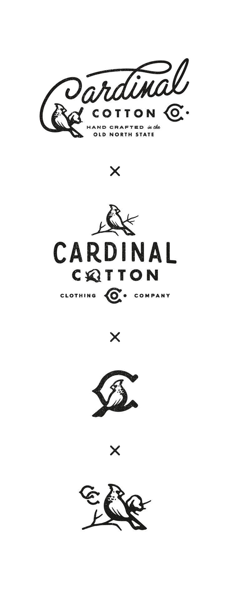 Love the old school look of these branding logos #brandingdesign