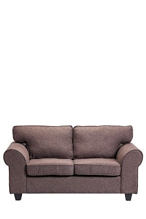 Our Charleston 2 Seater sofa has a relaxed look that is perfect for a casual lounge or TV room. Upholstered in polyester with a woven finish, this sofa is built for comfort and durability.