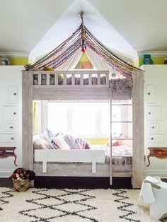 Fun bunk bed.