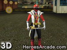 Play Power Rangers Super Samurai game online