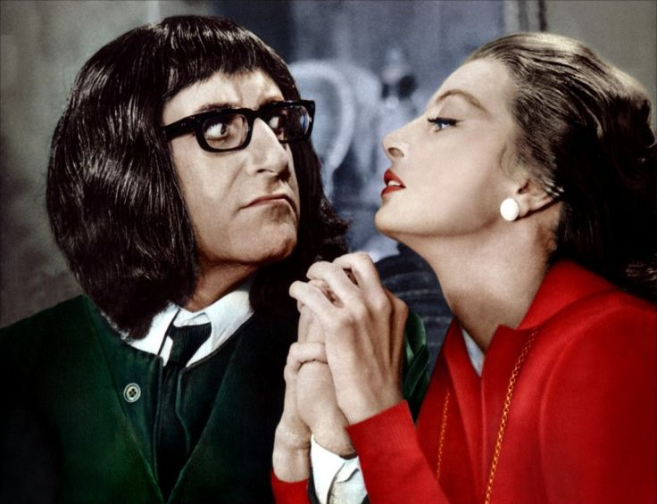 """Peter Sellers & Capucine in """"What´s new Pussycat"""""""