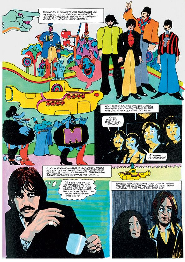 """THE BEATLES IN COMIC STRIPS"": A COLLECTION OF COMIC BOOK APPERANCES"