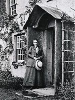 """China's August tea celebrates the birthday of Miss Beatrix Potter.    """"Then Mrs. Tiggy-winkle made tea—a cup for herself and a cup for Lucie. They sat before the fire on a bench . . . Mrs. Tiggy-winkle's hand, holding the tea-cup, was very very brown, and very very wrinkly with the soap-suds; and all through her gown and her cap, there were hair-pins sticking wrong end out; so that Lucie didn't like to sit too near her."""" —Beatrix Potter, The Tale of Mrs. Tiggy-Winkle http://dld.bz/b3T4N"""