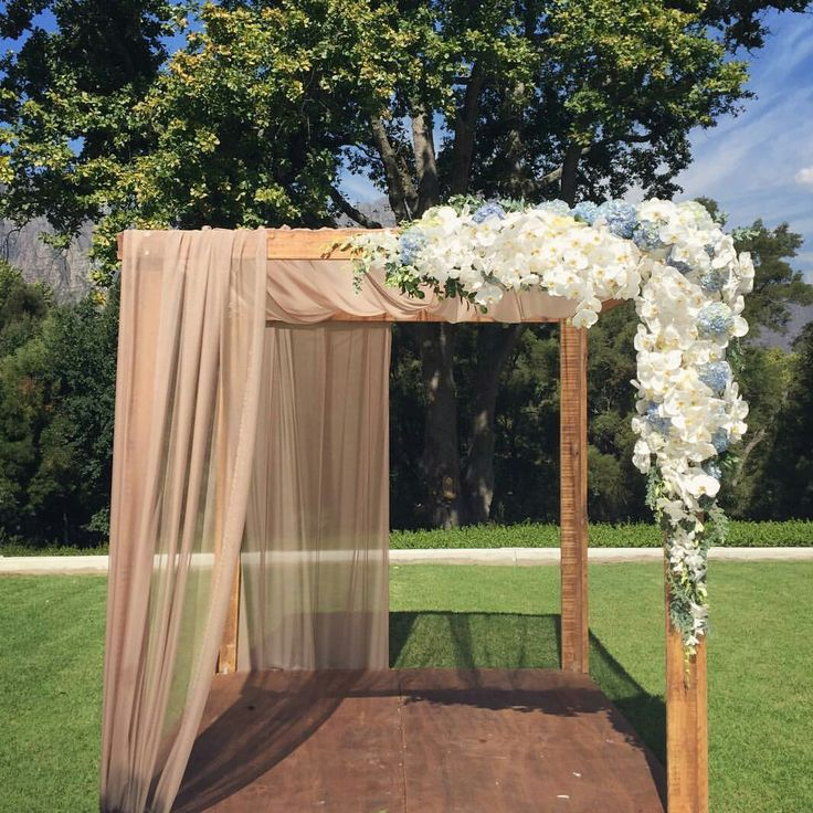 Inspired can't wait to do our next flower arch