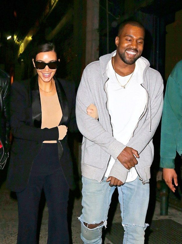 Are they married already? | What Are Kim Kardashian And Kanye West Smiling About?