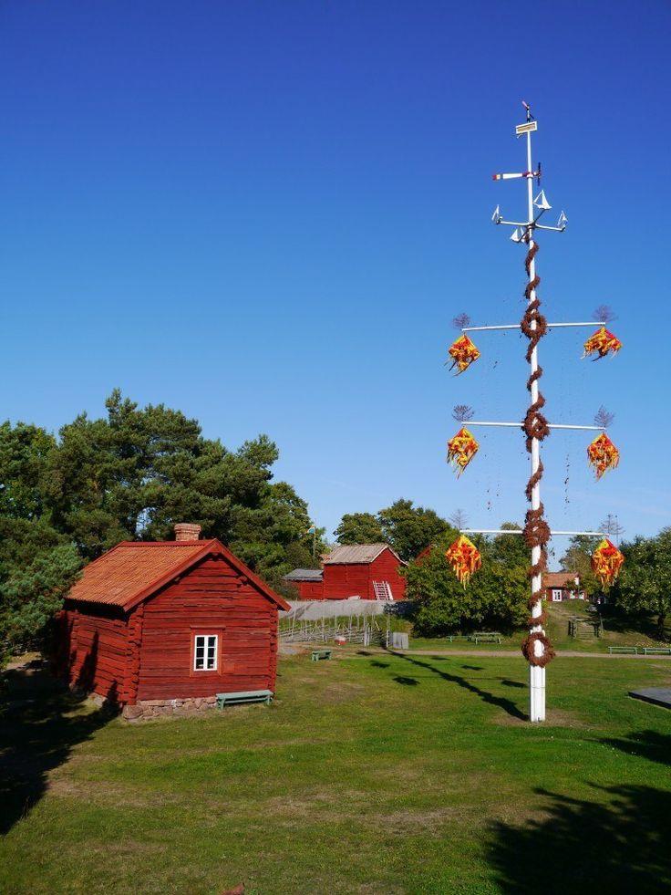Åland Islands   MIDSUMMER IN ÅLAND, Finland.