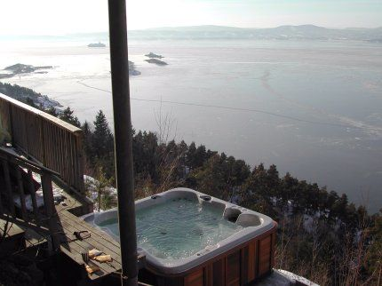 95 best Winter Hot Tubbing - Hot Tub in Snow, Ice & Cold! images on ...