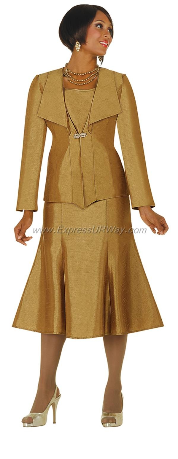 Elegant Women Dresses CHAMPAGNE DN5451 | | Not Just Church Suits