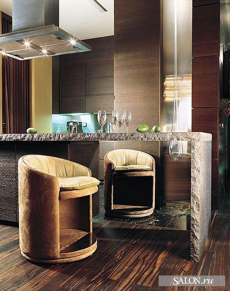 Барные стулья для кухни. Кухонные