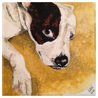 'Molly Dog II' Part of Triptych