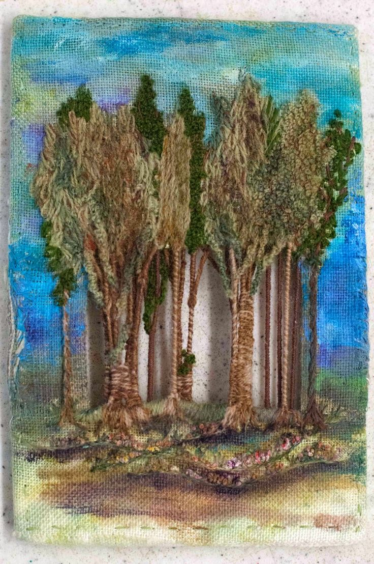Plays With Needles: Drawn Thread Forests with Catherine Jordan