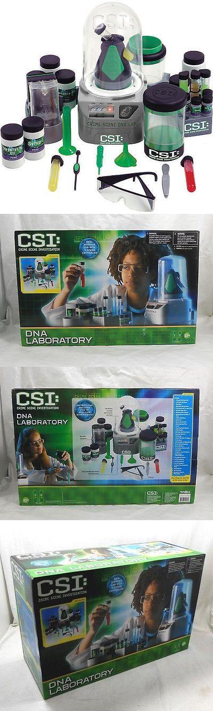 Microscopes and Chemistry 2568: New Csi: Crime Scene Investigation Dna Laboratory Kit Edu Science -> BUY IT NOW ONLY: $129.99 on eBay!