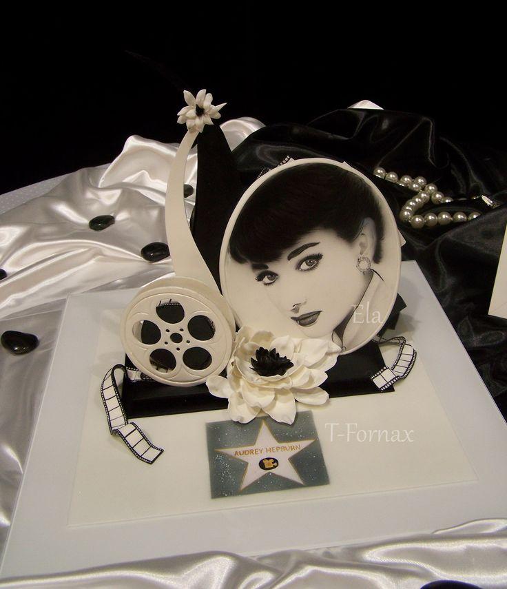 Audrey Hepburn sugar sculpture cukrárska artistika