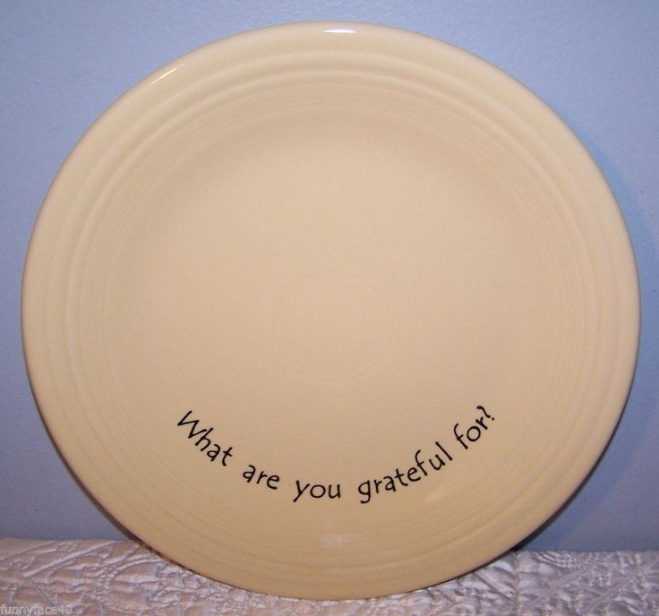 NEW FIESTAWARE 10.5\  DINNER PLATE FIESTA What are you grateful for? IVORY Unique & 156 best Fiesta® / Homer Laughlin China: Restaurant Ware images on ...