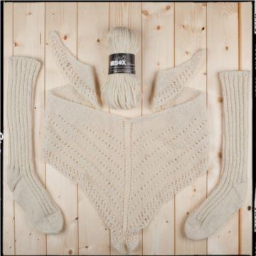 Oropa wool 100% made in Biella. Italy