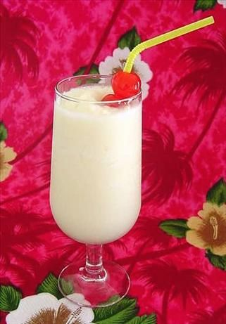 Non alcoholic Pina Colada from Food.com:   I havent tried this one yet, but it sounds yummy and refreshing for all those who dont consume alcoholic beverages.