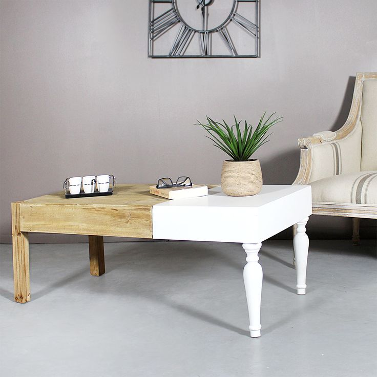 Table De Salon Blanc Laqu. Full Size Of Meilleur Mobilier Et ...