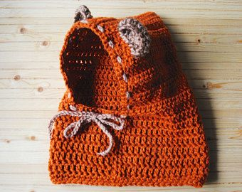 Sudadera oso Ewok sudadera con capucha, de punto bebé Star Wars Ewok sombrero, con capucha de oso de ganchillo, sombrero del Ewok bebé, bebé oso capucha, bebé oso con capucha, bebé capucha