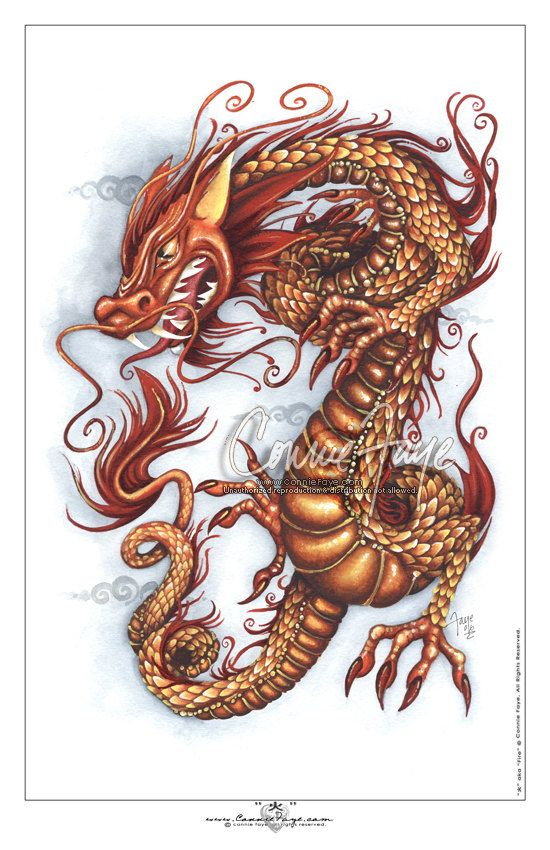 17 best dragons images on pinterest dragons chinese for Dragon fire tattoos
