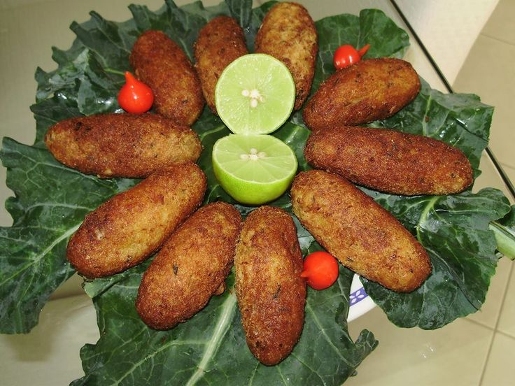 Receita de Receita de Bolinho de bacalhau com mandioca - GRANIG RECEITAS