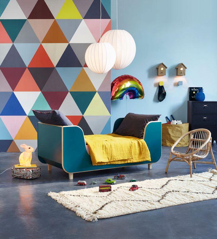 17 meilleures images propos de d co chambre enfants sur pinterest belle - Lits superposes ampm ...
