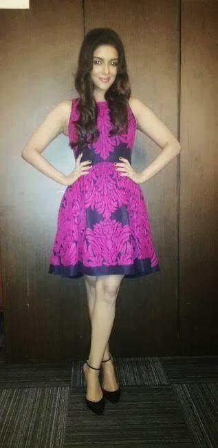 Asin Cute Stills In Short Pink Dress