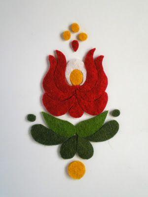 Hungarian folk art piece