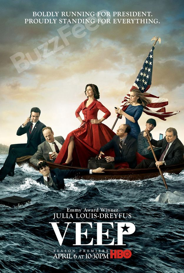 """Veep"" Navigates Treacherous Waters In Season 3 - Returns April 6 at 10:30 p.m. on HBO"