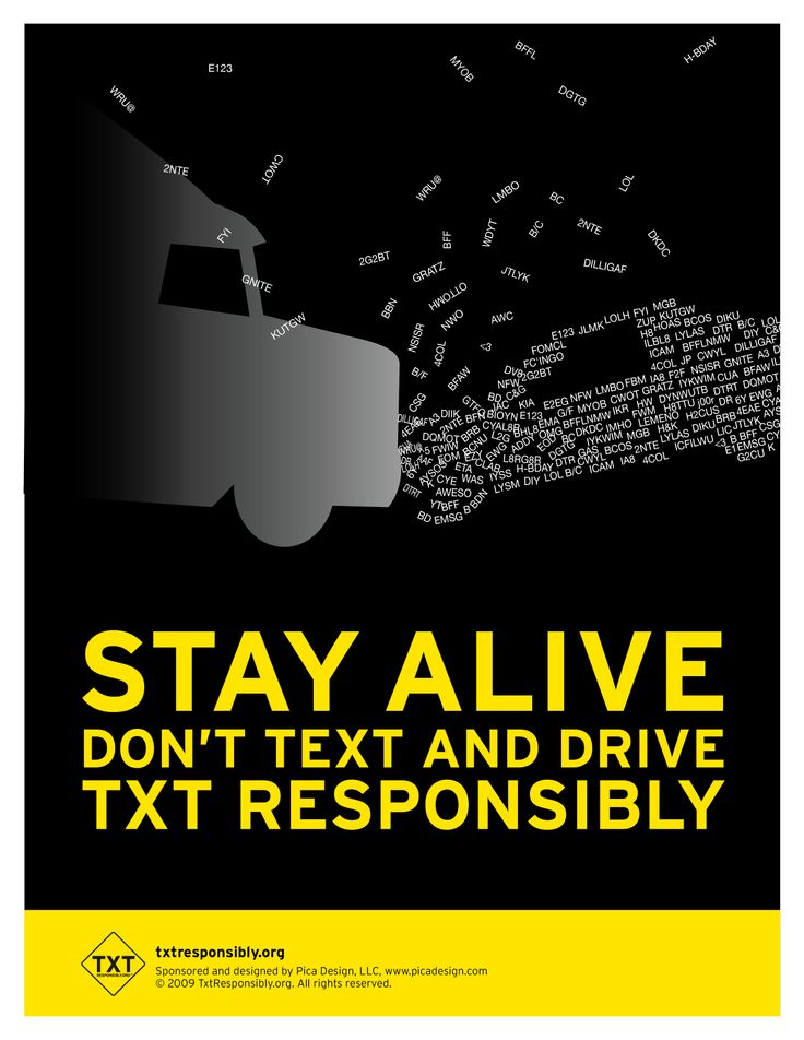 Texting Driving Accidents Awareness - Prevent Injury Accident